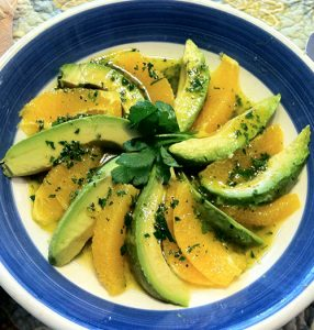 Sicilian Orange & Avocado Salad