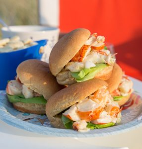 Lobster Rolls with Herbes de Provence Aioli