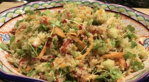 Quinoa Salad with Lemon Vinaigrette