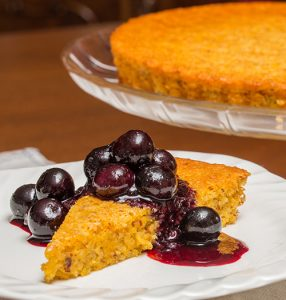 Olive Oil & Orange Cake