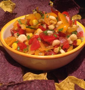 Sweet & Spicy Tomato-Corn Salsa