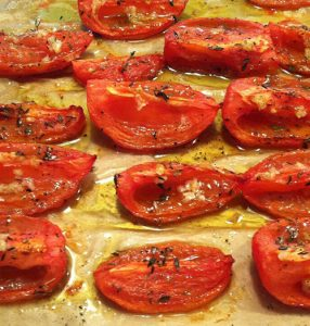 Winter Tomatoes – Oven Roasted