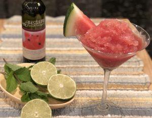 Watermelon Rosé Granita