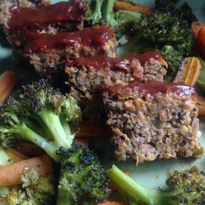 Lentil Quinoa Meatless Loaf